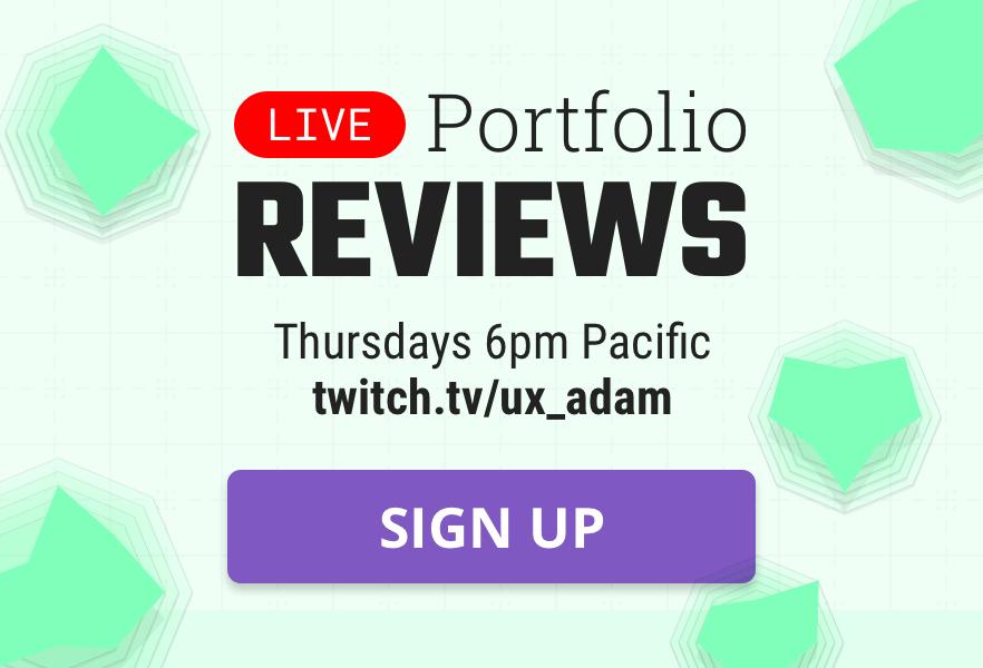 Sign up to get your portfolio